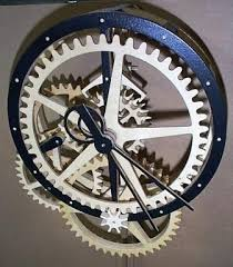 Free Wood Clock Plans Download by 51 Best Wooden Clocks Images On Pinterest Wooden Gears Wooden