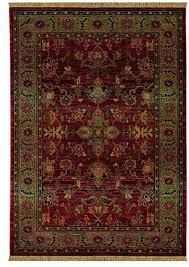 oriental weavers kharma 836c4 red green area rug u2013 incredible rugs