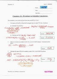 Stoichiometry Practice Worksheet Answer Key Solubility Ms Beaucage