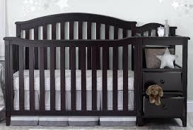 Sorelle Princeton 4 In 1 Convertible Crib In Convertible Crib With Changing Table Easton