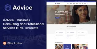 templates for business consultants iadvice business consulting and professional services html