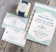 vintage nautical wedding invitations the elli