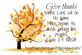 scriptures for thanksgiving c king room to breathe