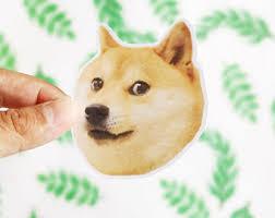 Doge Meme Tumblr - doge meme etsy