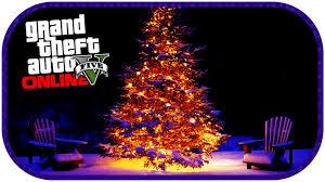 gta 5 online secret christmas tree location glowing tree online