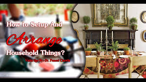Brunch Setup How To Setup And Arrange Household Things Part 1 Important