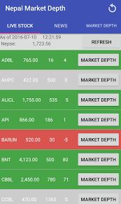 1 market apk nepal market depth 4 0 1 apk android finance apps