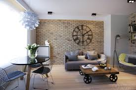 industrial modern design post industrial apartment in warsaw exhibiting a clean and elegant