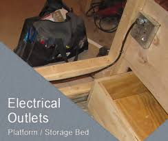 Discounted Bed Frames Bed Frame Electrical Adding Outlets