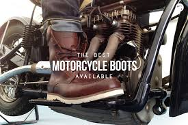 biker riding boots riders on the storm the 6 best motorcycle boots hiconsumption
