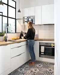 cuisine sol parquet carreaux de ciment parquet carreaux de ciment pour cuisine cuisine