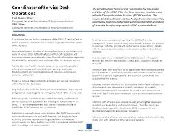 Service Desk Level 1 Scric Functional Org Chart Ppt Download
