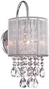 crystal sconces for bathroom crystal wall sconce massagroup co