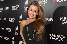 kyle richards hair extensions kyle richards walks us through her amazing hair care routine