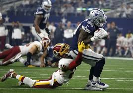 dez bryant josh norman scrap trade barbs during and after