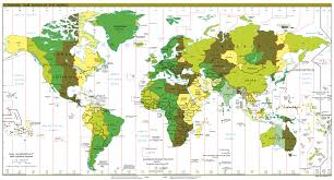 World Map Equator by Geography Basics