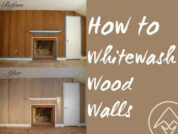 how to whitewash paneling how to whitewash or pickle wood walls annick magac