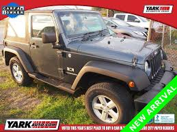 jeep wrangler electronic stability this 2007 jeep wrangler x is listed on carsforsale com for 14 725