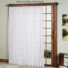 Patio Door Design Ideas Patio Drapes For Patio Doors With White Curtain Ideas And Sliding