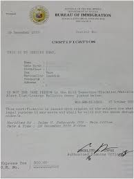 Sle Letter Certification No Pending Case How To Get Not The Same Person Ntsp Certificate From Bureau Of