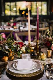 themed candles reception décor photos rustic europe themed tablescape