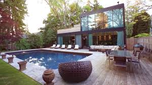 modern home design ideas the glass house youtube