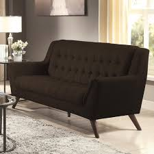 Mid Century Modern Tufted Sofa by Coaster Baby Natalia Mid Century Modern Sofa Value City