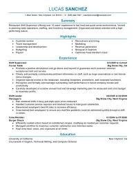 Housekeeping Supervisor Resume Sample by Supervisor Resume Loss Prevention Supervisor Resume Sample