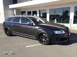 Audi Q7 Matte Black - niche essen wheel 20