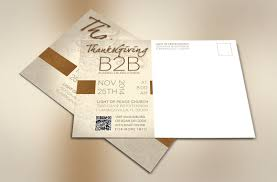 thanksgiving info thanksgiving charity postcard photoshop template on behance