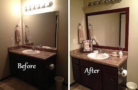 Bathroom Mirror Decorating Ideas Bathroom Mirror Decor Playmaxlgc