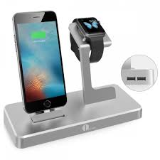 Phone Charging Stand by 1byone Apple Watch Charging Stand 3 In 1 Charging Dock For
