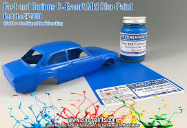 fast and furious 6 ford escort mk 1 blue paint 60ml zp 1401
