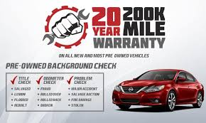 nissan canada manufacturer warranty 20 year 200k mile warranty in southern pines nc at pinehurst nissan