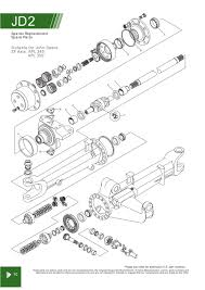 john deere front axle steering u0026 related components page 26