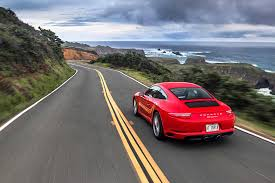red porsche 911 the best 911 in years 2017 porsche 991 2 carrera