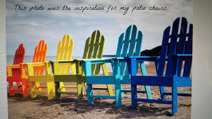 Paint For Outdoor Plastic Furniture by Do You Have White Plastic Patio Chairs This Is An Easy Way To Add