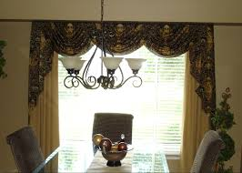 curtain ideas for dining room popular dining room window treatments with formal dining room