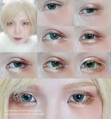 male anime eyes makeup tutorial mugeek vidalondon