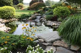 great ideas for landscaping with river rocks