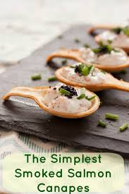 canape cups recipes recipe simple delicious smoked salmon canapés fuss free flavours