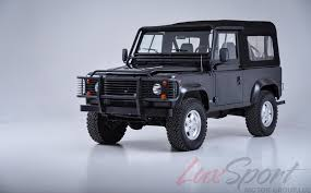 land rover defender 110 convertible 1997 land rover defender 90 open top stock 1997104 for sale near