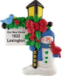 our new home welcome light personalized ornaments