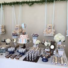 teddy themed baby shower gender neutral baby shower baby shower ideas