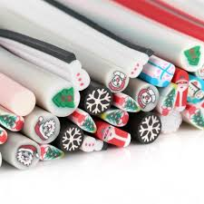 christmas collection art nail 3d design sticks cute nailart rods