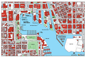 national harbor map baltimore harbor map baltimore md us mappery