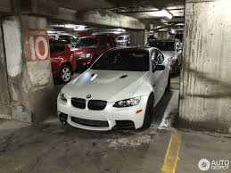 matte white bmw limited edition frozen white bmw e92 m3 spotted in kansas