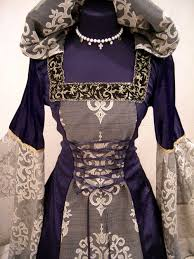 medieval victorian renaissance gothic vampire hood gown customized