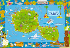 French Polynesia Map My Favorite Views French Polynesia Tahiti Map Of The Island