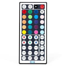 led strip rgb color changing light with 44 key remote waterproof